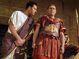Jesus before Pilate and Herod Antipas