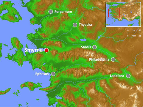 Smyrna vied with Ephesus and Pergamum for the title 'First City of Asia.' Smyrna created a cult of Rome and worship of the goddess Roma. – Slide 8