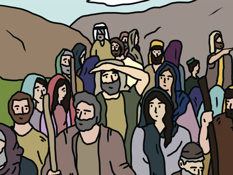 After leaving Egypt, the freed Hebrew slaves moved through the wilderness on their way to the land God had promised them. As they approached Canaan, they stopped in the wilderness of Zin at a place called Kadesh Barnea. – Slide 1