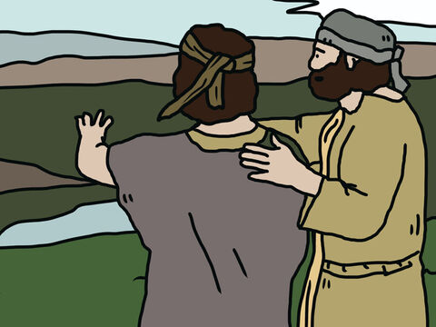 The ten spies who brought a bad report died of a plague. Of all the spies, only Joshua and Caleb survived in the wilderness for 40 years. They both eventually got to live in the land God had promised to them. They had trusted in God and God kept His promises to them. – Slide 15