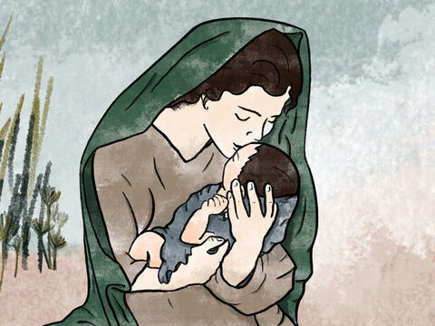 'Take this child home and nurse him for me,' the princess instructed the baby's mother, 'and I will pay you well!' So she took him home and nursed him. – Slide 11
