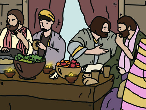 His sons used to take turns hosting parties in their homes, always inviting their three sisters to join them in their merrymaking. When the parties were over, Job would get up early in the morning and sacrifice a burnt offering for each of his children, thinking, 'Maybe one of them sinned by defying God inwardly.' Job made a habit making sacrifices for sin. – Slide 4
