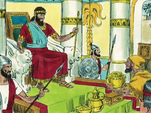 Abjiah grew in strength and ruled for three years before he died and his son Asa became King. – Slide 20