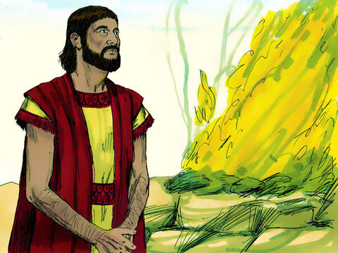 Abram built an altar to the Lord at Shechem and worshipped Him. – Slide 9
