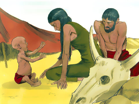 Genesis 12 v 10 - 20 There was a famine in the land; food became scarce and many became hungry. – Slide 12