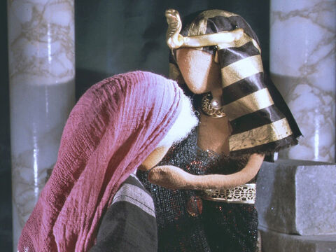 Pharaoh welcomed Sarai into his palace but she did not tell him she was already married to Abram. – Slide 6