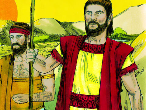 So Abraham said to Lot, 'Let's not have any more quarrelling between our herders. The whole land is before us. Let's part and go our separate ways. If you choose to go to the left, I'll go to the right; if you go to the right, I'll go to the left.' – Slide 6