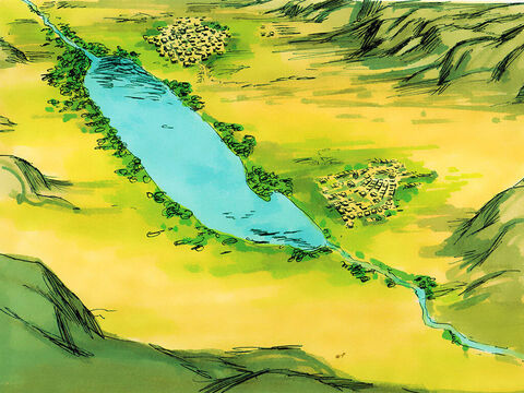 Lot saw that the plain of Jordan (an area around what we now call the Dead Sea) was well watered with good pasture lands. – Slide 7