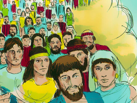 The Lord said, 'Shall I hide from Abraham what I am about to do? Abraham's descendants will become a great and powerful nation and all nations on earth will be blessed through him. I have chosen him and the Lord will bring about all He has promised to Abraham.' – Slide 8