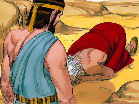 Abraham pleaded, 'Will you sweep away those who live right along with those who have done such wrong? If there are 50 righteous people in the city will you not spare it? Will not the judge of all the earth do what is right?' – Slide 13