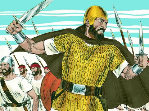 Zichri, a great warrior from the tribe of Ephraim, is mentioned as killing Maaseiah, the son of King Ahaz, along with the King's administrator, Azrikam and the King's second in command, Elkanah. – Slide 5