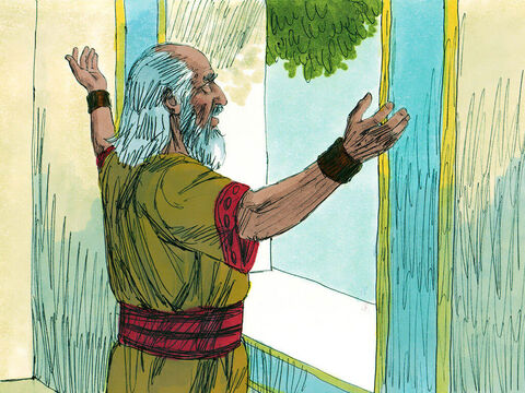In the town of Samaria there was a prophet of God called Oded. God had a message for him to deliver to the triumphant troops. He bravely went out to meet the returning army. – Slide 13