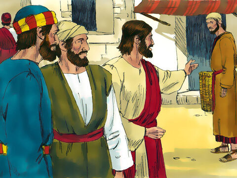 Jesus found a man called Philip in Bethsaida and told him, 'Come with me.' – Slide 8