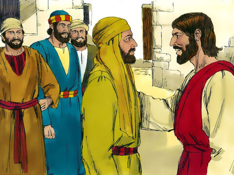 'How do you know what I am like?' Nathanael demanded.Jesus replied, 'I could see you under the fig tree before Philip found you.' – Slide 12