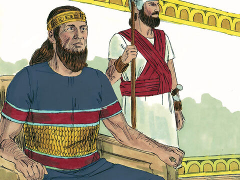 King Asa had ruled the Kingdom of Judah for 35 years. In the 15th year of his reign the vast Cushite army had attacked Judah but Asa had trusted God for victory. The nation had promised to obey God with all their hearts and had enjoyed 20 years of peace – Slide 1