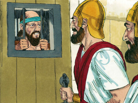 King Asa was so enraged with God's message that he put the prophet Hanani in prison. He became arrogant and brutally oppressed some of the people he ruled over. – Slide 12