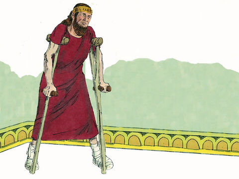 Three years later King Asa was afflicted with a severe disease in his feet. He turned to doctors to heal him but they could not. He refused to ask God for help. He died two years later. – Slide 13