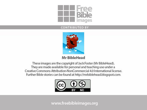 Further Bible stories can be found at http://mrbiblehead.blogspot.com. – Slide 16