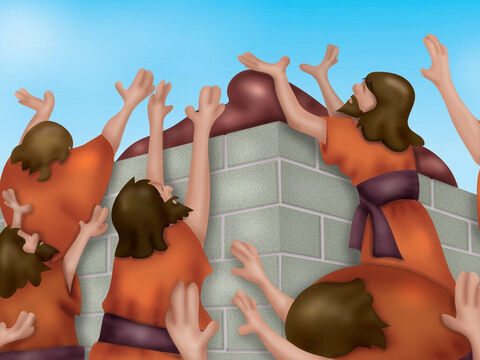 So they shouted louder and even began to cut themselves, thinking that would get Baal's attention ... but still nothing. – Slide 15