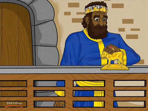 """During this time, King Jeroboam II ruled the land of Israel. He was a very rich and wicked king. He built huge palaces instead of helping the poor, and he worshipped false gods instead of worshipping Yah. Despite this, Yahweh still loved the people of Israel.  <br/>One day, Yah gave Jonah a message for the king. """"Tell King Jeroboam that Israel will conquer its enemies. He will win back the land that was stolen, and Israel will become a mighty nation."""" <br/>Jonah swallowed hard and stared at the ground. The thought of giving the king a message from Yah gave him goose bumps. What if it didn't come true? The king might throw him in jail for the rest of his life, or even worse, kill him! – Slide 2"""