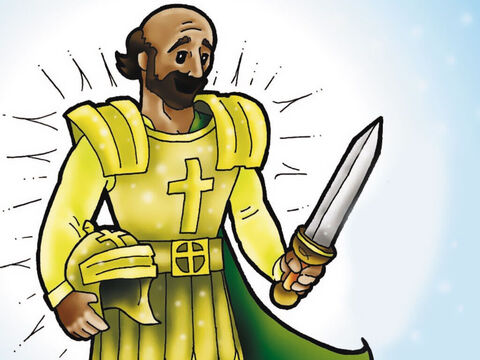 As a good soldier of Jesus Christ, Paul dressed his soul in the armour of God every day! What amazing things God did through Paul. Like Paul, you can take up the armour of God to stand firm in all hardships of life ¬-(Ephesians 6:13-17). – Slide 7