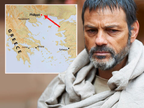 At Troas, Paul had a vision of a man from Macedonia pleading, 'Come over here and help us.' So they sailed for the coast of Macedonia. – Slide 2