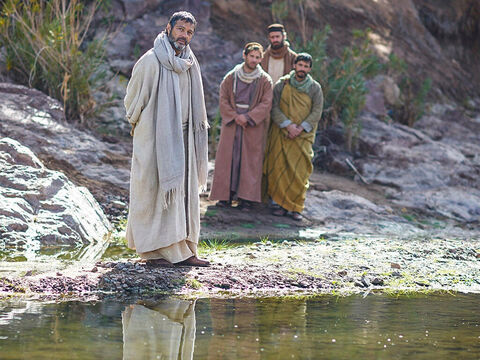 Paul and his companions asked to join the women meeting by the river for prayer. – Slide 7