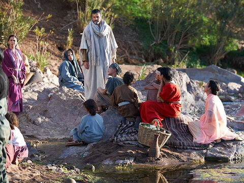 Paul was given the opportunity to teach them the scriptures and tell them about Jesus, the Messiah. – Slide 8