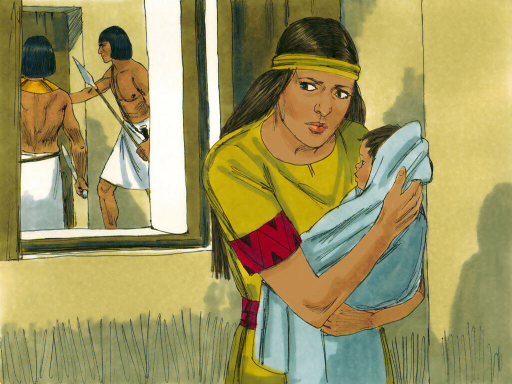 Freebibleimages Baby Moses Baby Moses Is Rescued