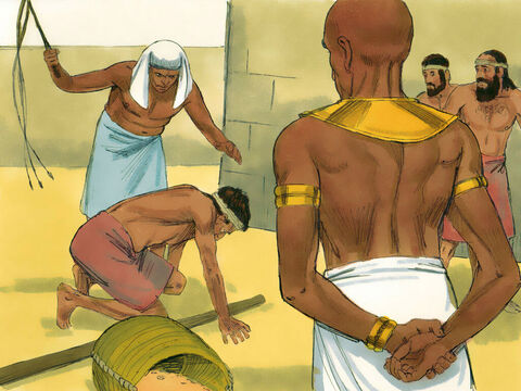 Exodus 1 v 11 So the Egyptians forced the Israelites to become their slaves. – Slide 4