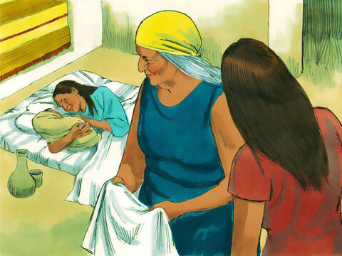 Exodus 1 v 15 The two midwives who helped Hebrew women deliver their babies were called Shiphrah and Puah. – Slide 8