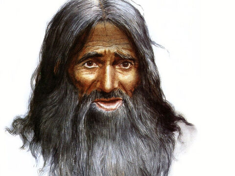 Can be used to represent any wild-looking, older male Bible character. – Slide 16