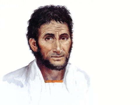 Illustration of Saul by Pam Masco. – Slide 19