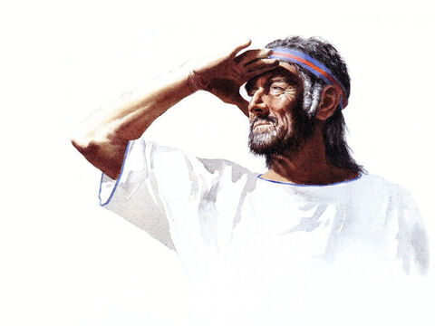 Illustration of Moses's father-in-law, Jethro, by John Heseltine. – Slide 3