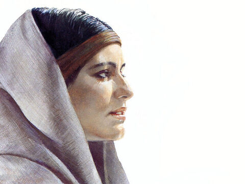 This illustration can be used to represent many female characters in The Bible. – Slide 2