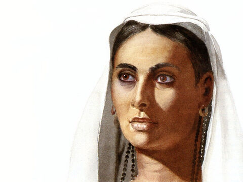 This illustration can be used to represent many female characters in The Bible. – Slide 4