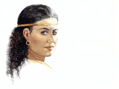 Illustration of Rahab by John Heseltine. – Slide 9