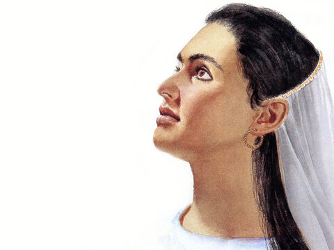 This illustration can be used to represent many female characters in The Bible. – Slide 12