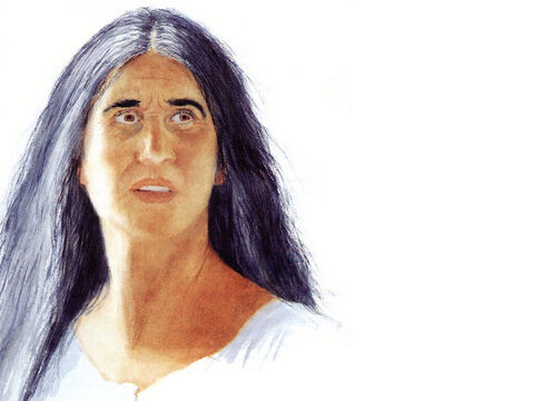 This illustration can be used to represent almost any female Bible character. – Slide 22