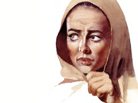 This illustration can be used to represent almost any female Bible character. – Slide 26