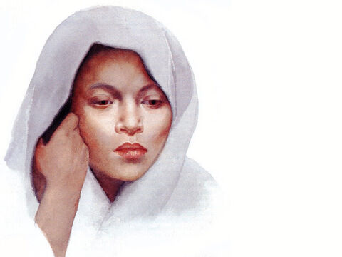 This illustration can be used to represent almost any young woman in Bible times. – Slide 28