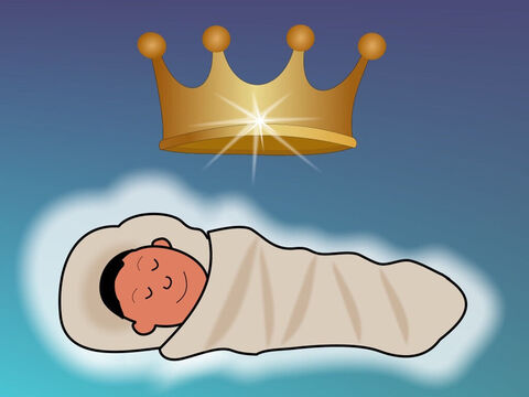 'For to us a child is born, to us a son is given, and the government will be on his shoulders. And He will be called Wonderful Counselor, Mighty God, Everlasting Father, Prince of Peace.' Isaiah 9:6 – Slide 15