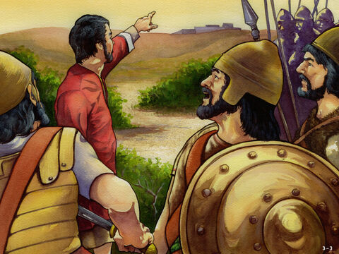 This progress provoked their enemies into planning an attack. Sanballot and the Samaritans from the north, Tobiah and the Ammonites to the east, Geshem and the Arabs from the south and the Ashdodites from the west posed a big threat. The workers prayed to God for help and posted a guard day and night. <br/>But by now the workers were getting discouraged. They were exhausted and the work was getting harder. Some came to Nehemiah wanting to give up. Ten times there were rumours that a surprise attack was on its way. – Slide 3