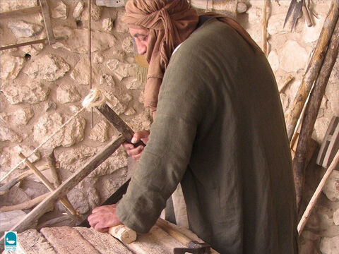 The carpenter's saw is mentioned in the Bible (1 Kings 7:9). – Slide 7