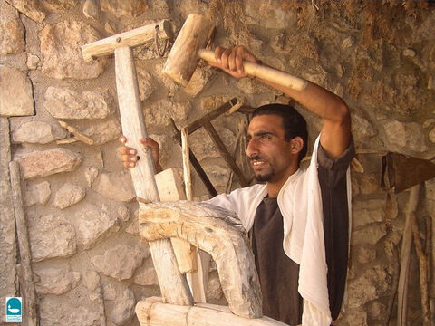 Hammers were made of stone or metal and mallets of wood. Jeremiah refers to the use of hammer and nails (Jeremiah 10:4). – Slide 8