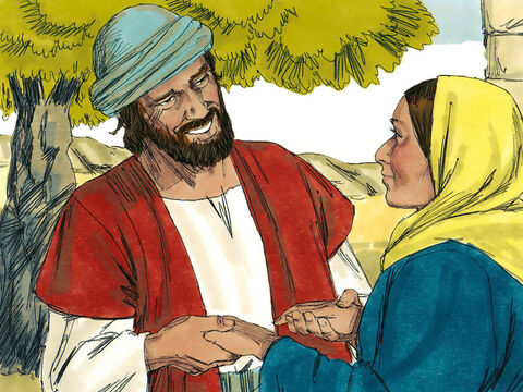 When Joseph woke up, he did what the angel of the Lord had commanded him and took Mary home as his wife. (He did not consummate their marriage until she gave birth to a son). – Slide 8