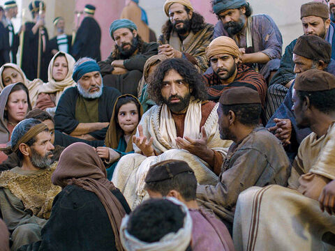 They could not arrest Jesus as He had the support of the crowds who listened attentively to everything He said. – Slide 15