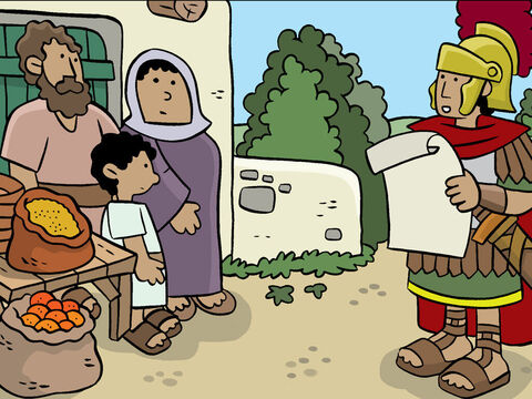 Everyone was told to return to the place where they were originally from to register and pay taxes. – Slide 2