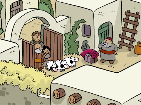 Soon they found and entered the stable. – Slide 15