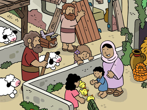 After Jesus was born, Mary and Joseph stayed in Bethlehem. Jesus was now nearly two years old. – Slide 1